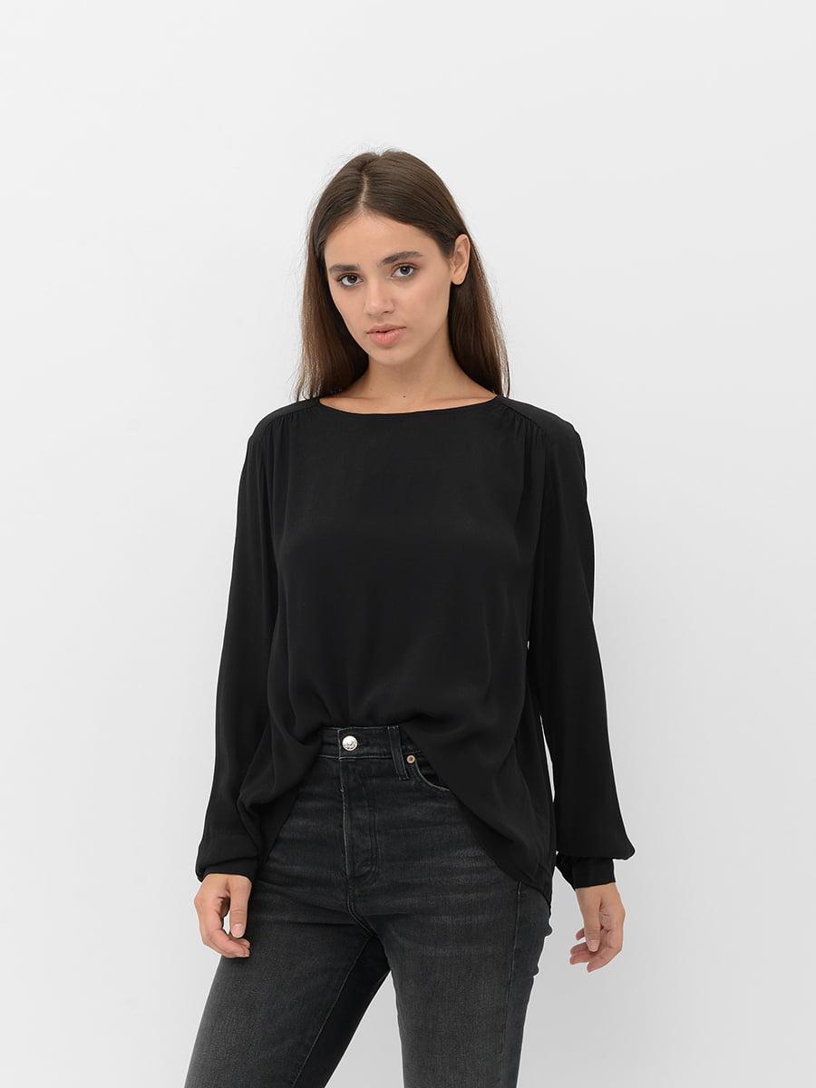 Блуза черная | 5551415