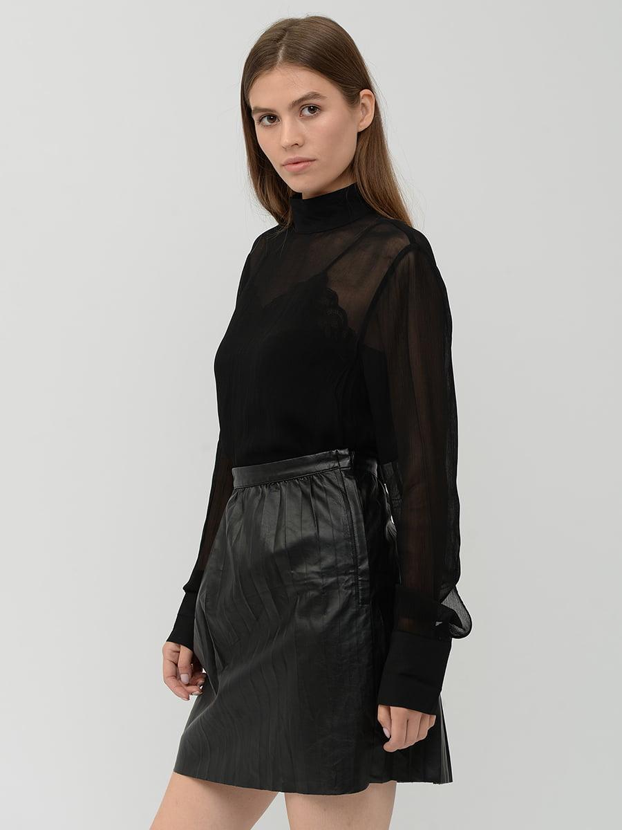 Блуза черная   5551482
