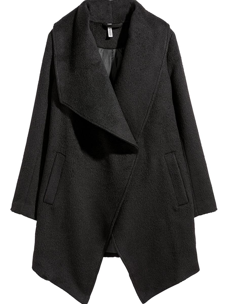 Пальто черное   5551487