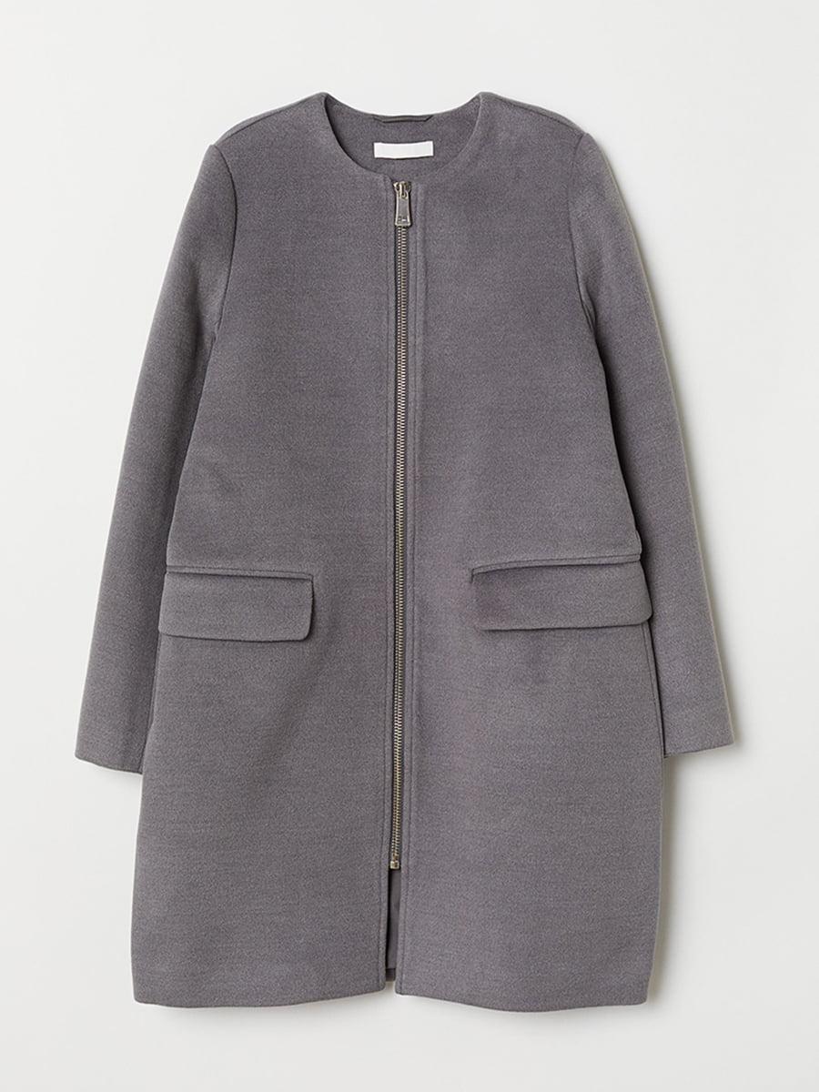 Пальто серое | 5551814