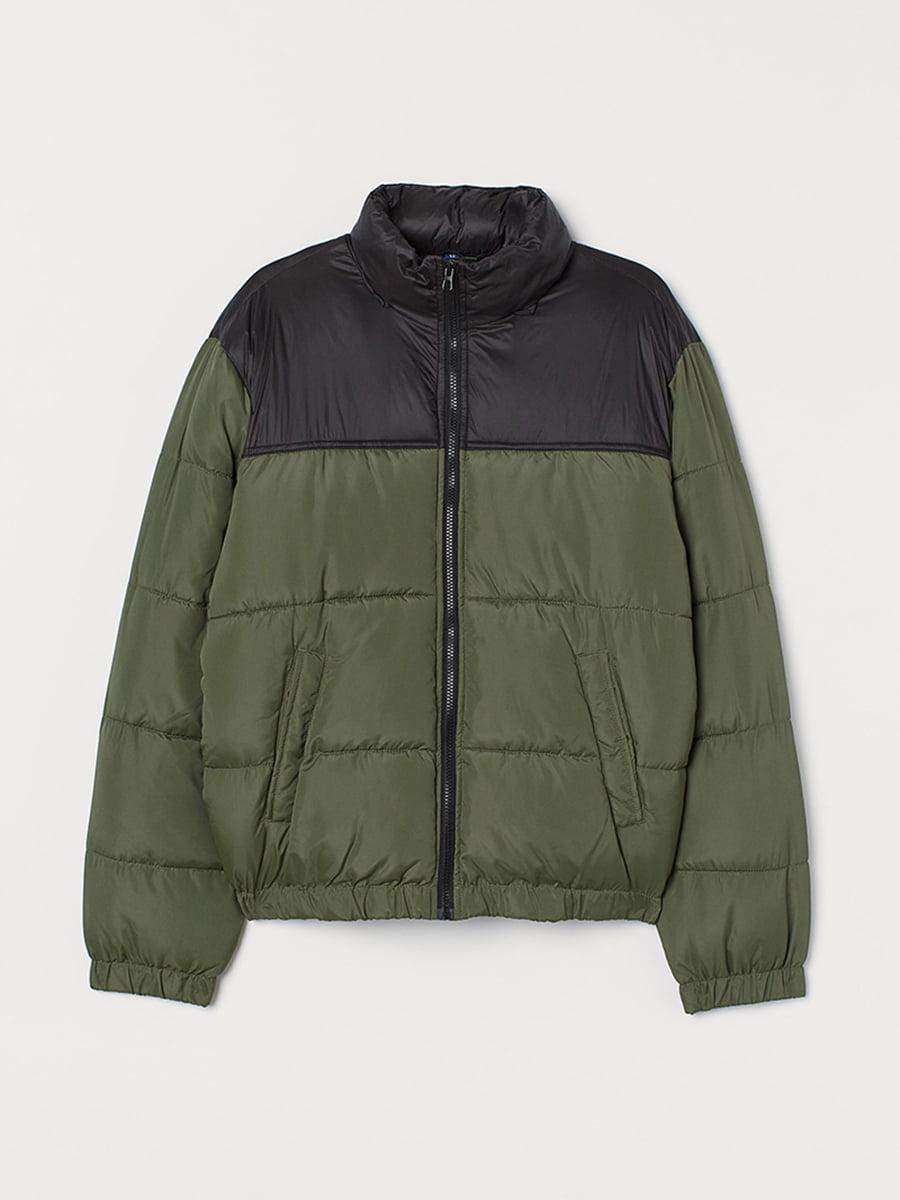 Куртка цвета зеленый хаки | 5551907