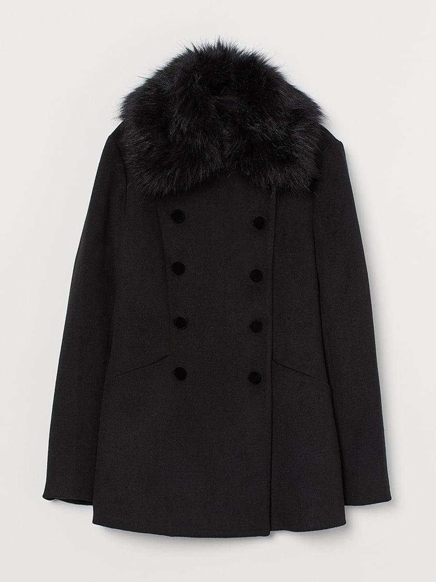 Пальто черное | 5552010