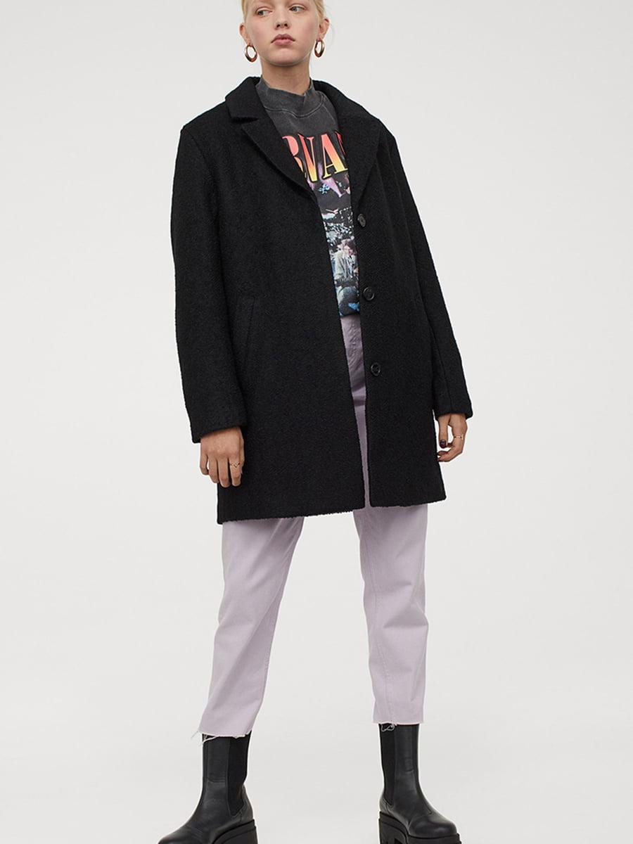 Пальто черное   5576650