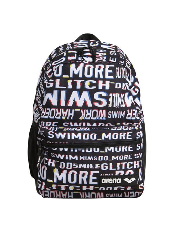 Рюкзак черный с принтом | 5575934