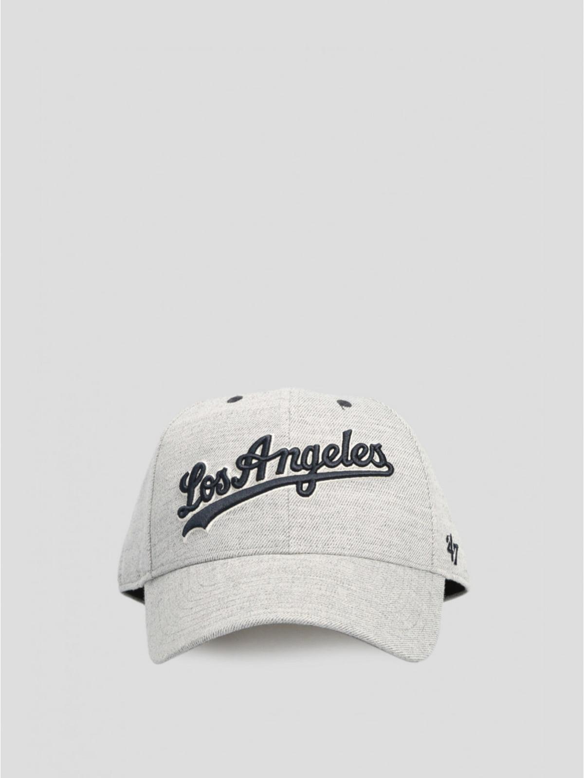 Бейсболка серая   5576255