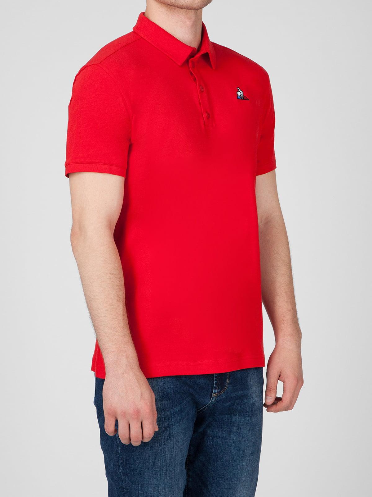 Футболка-поло червона | 5511880