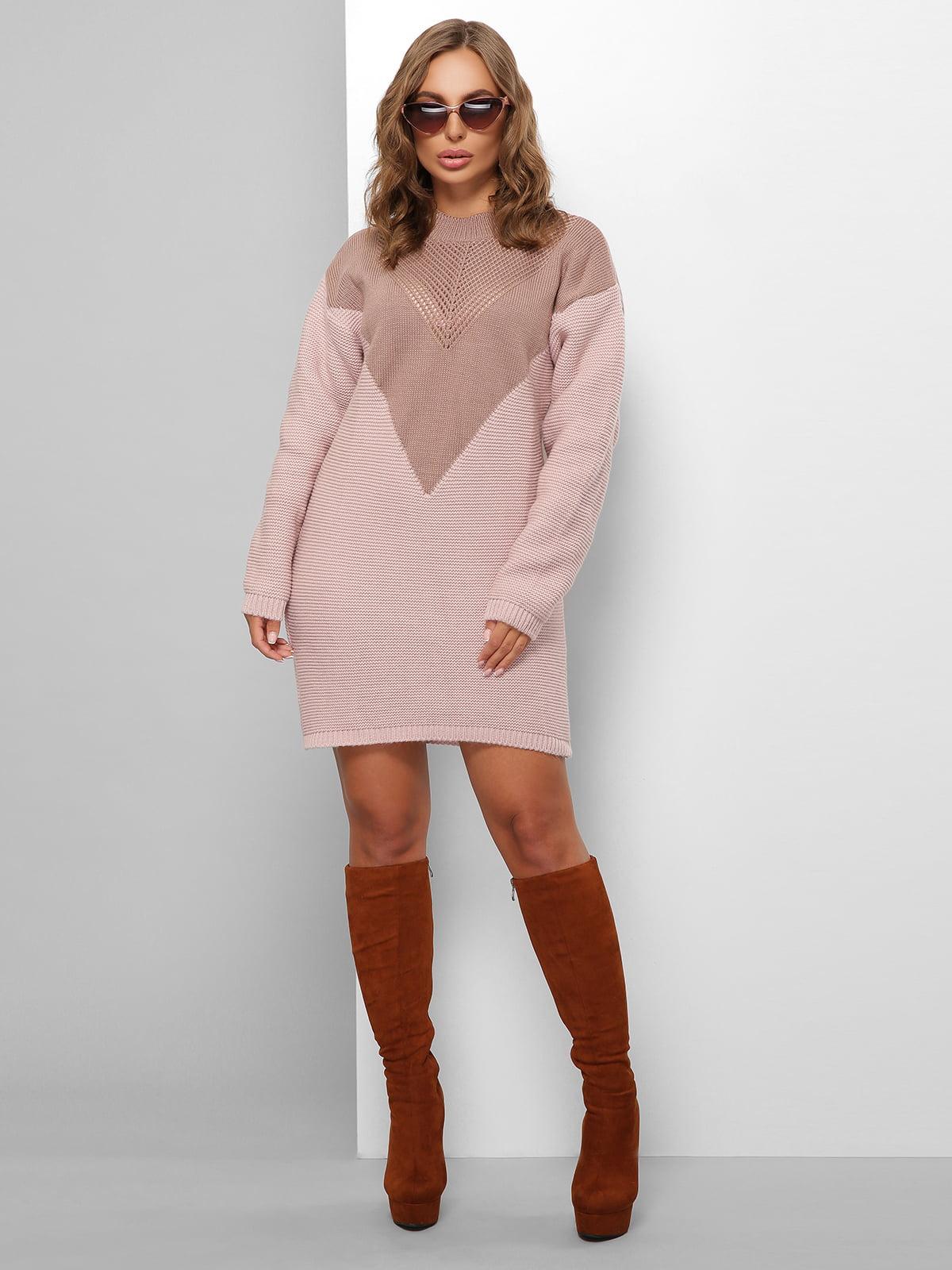 Платье двухцветное | 5579853