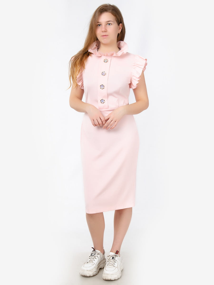 Сукня кольору пудри | 5561129