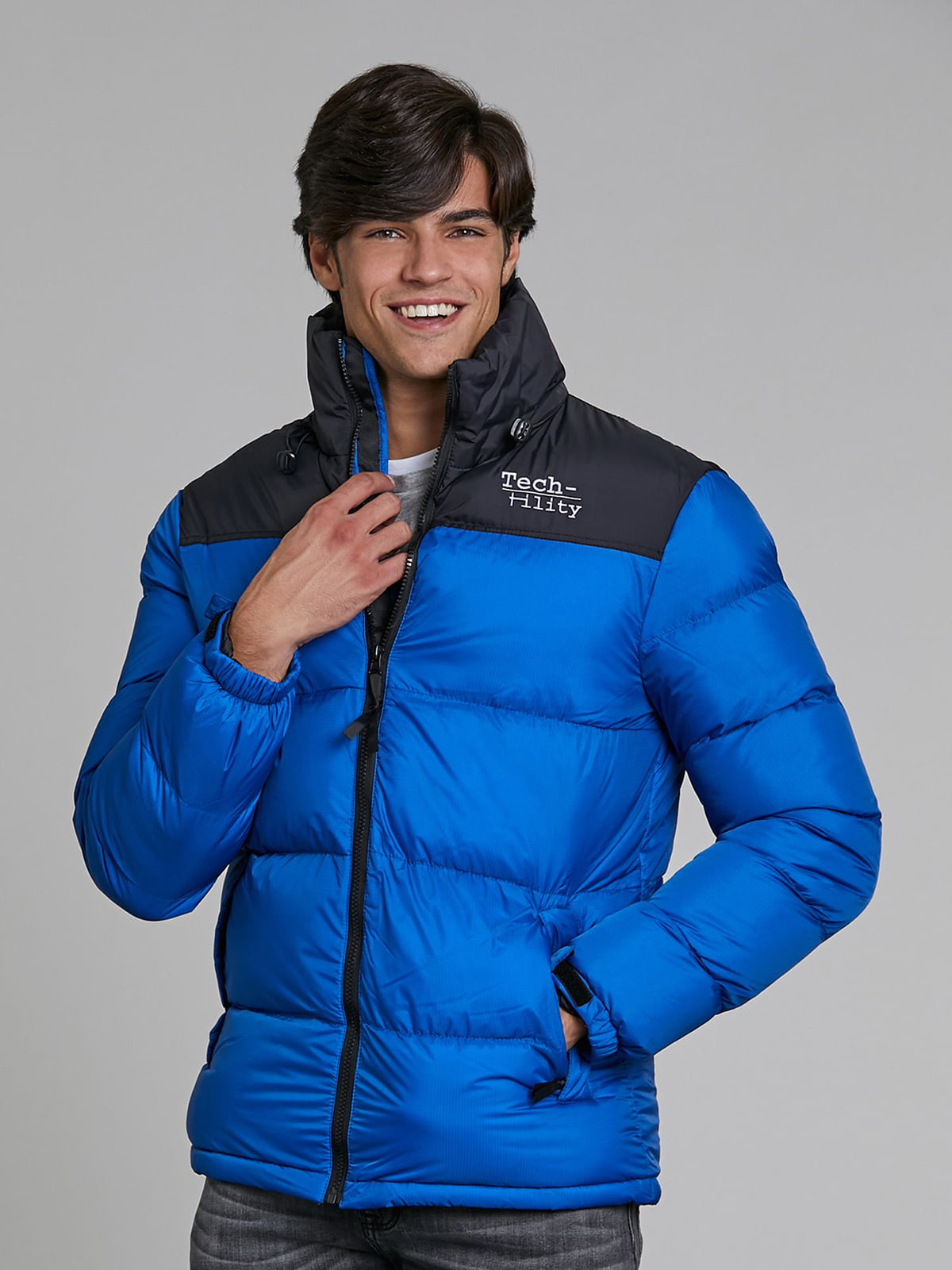 Куртка синяя   5580323
