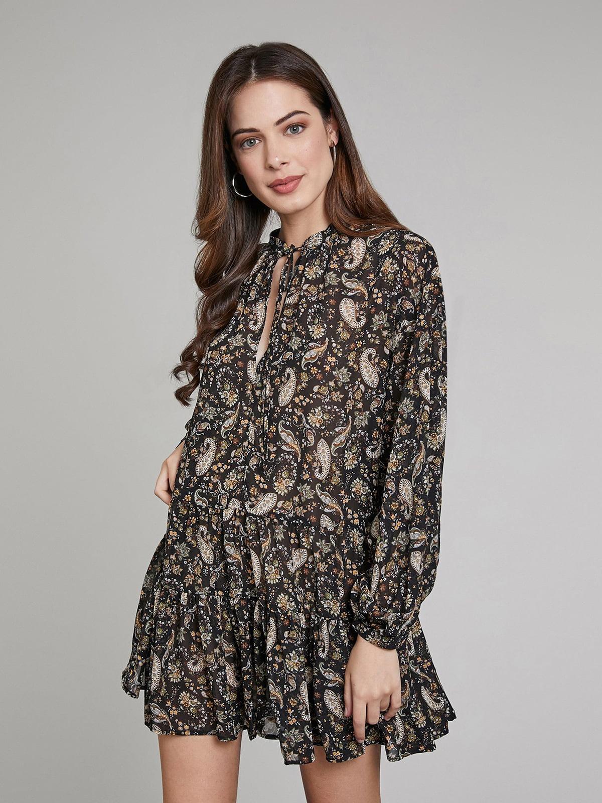 Платье в принт   5580250