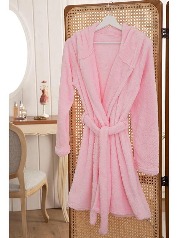 Халат розового цвета (L-XL) | 5582607
