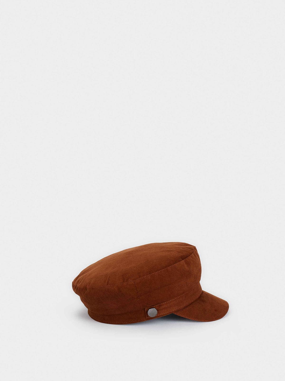 Кепка коричневая | 5581911