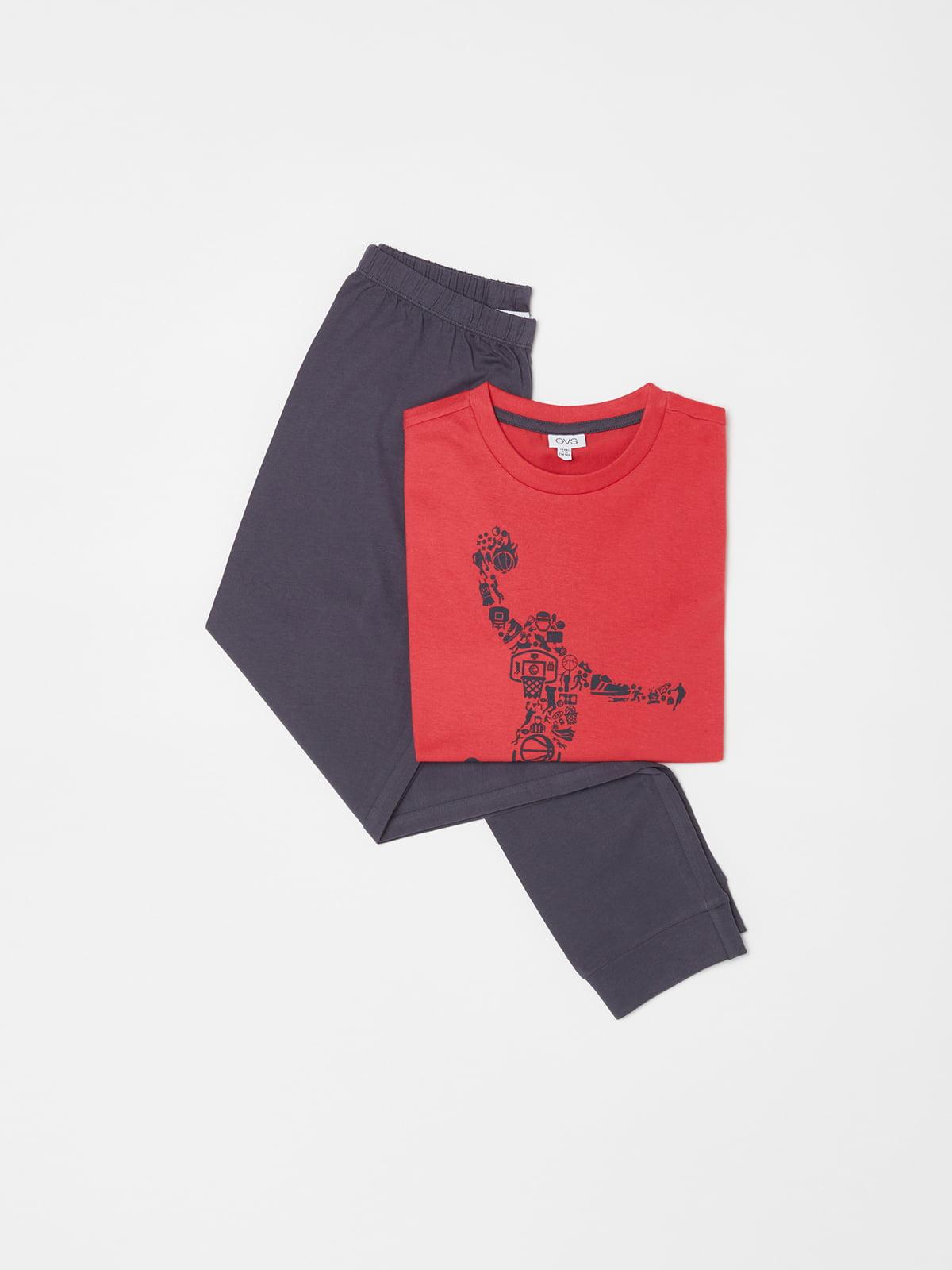 Пижама: лонгслив и брюки | 5583067