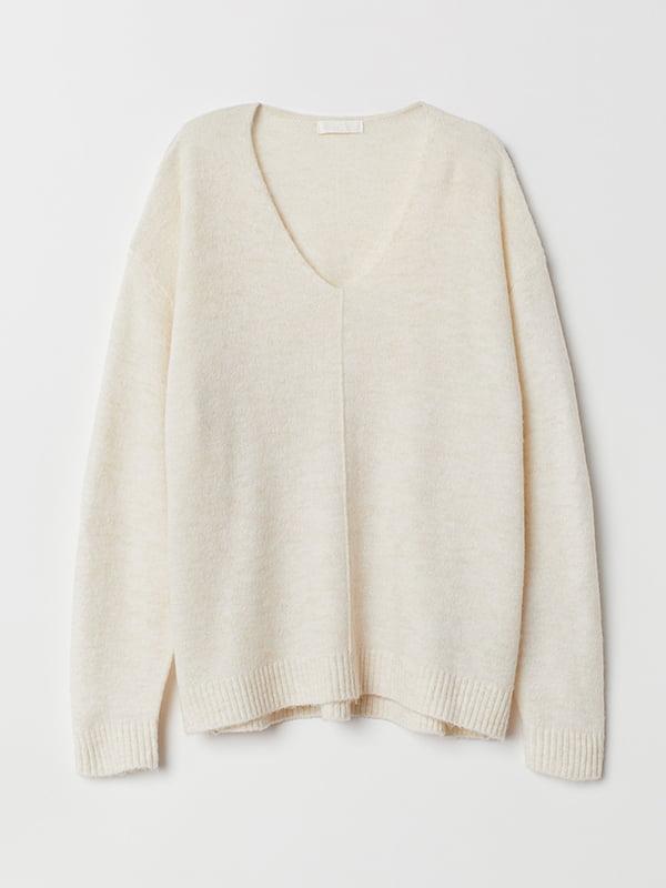 Пуловер бежевый | 5551839