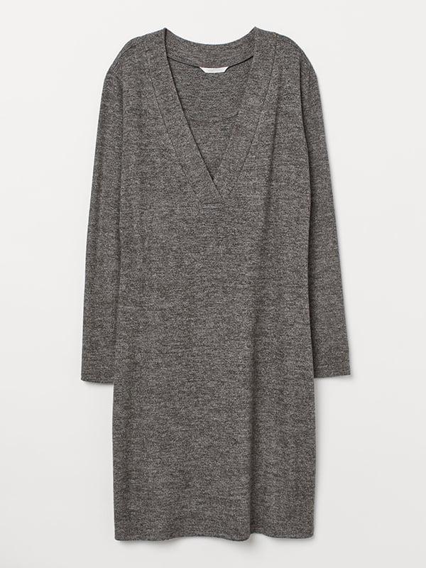 Платье темно-серое | 5579661