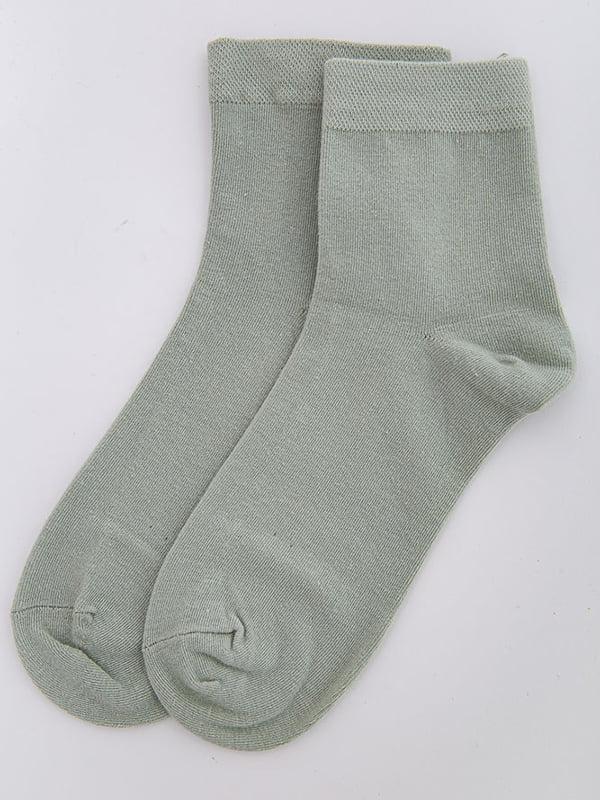 Носки оливкового цвета   5584943