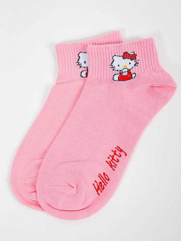 Носки розовые   5584949