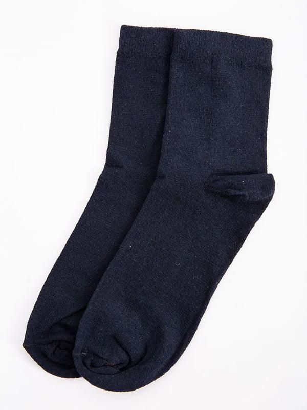 Носки темно-синие   5584954