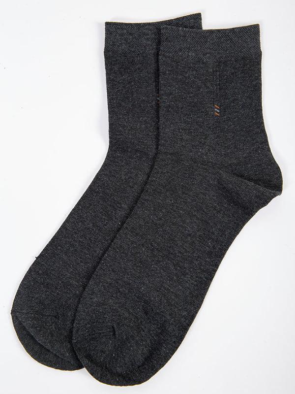Шкарпетки темно-сірі | 5584960