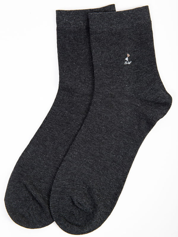 Носки темно-серые | 5584964