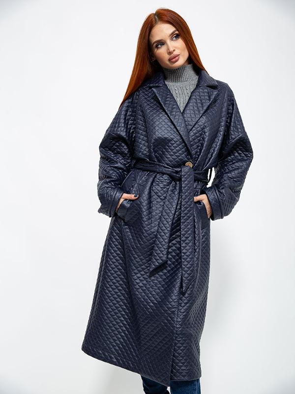 Пальто темно-синее   5584974
