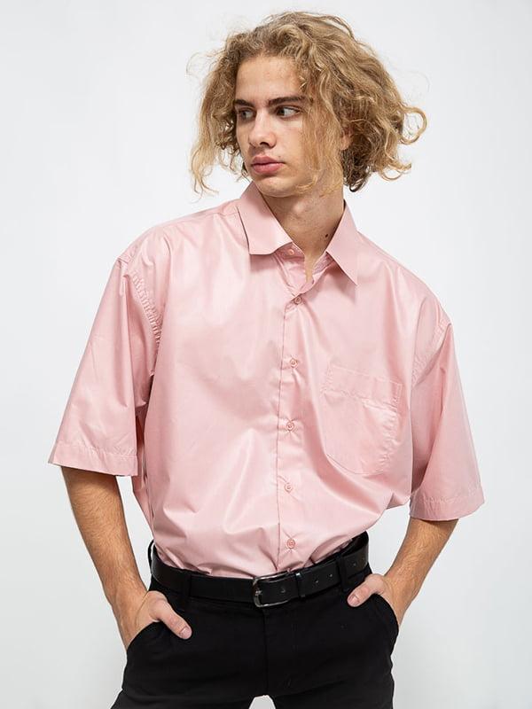 Рубашка светло-розовая   5584995