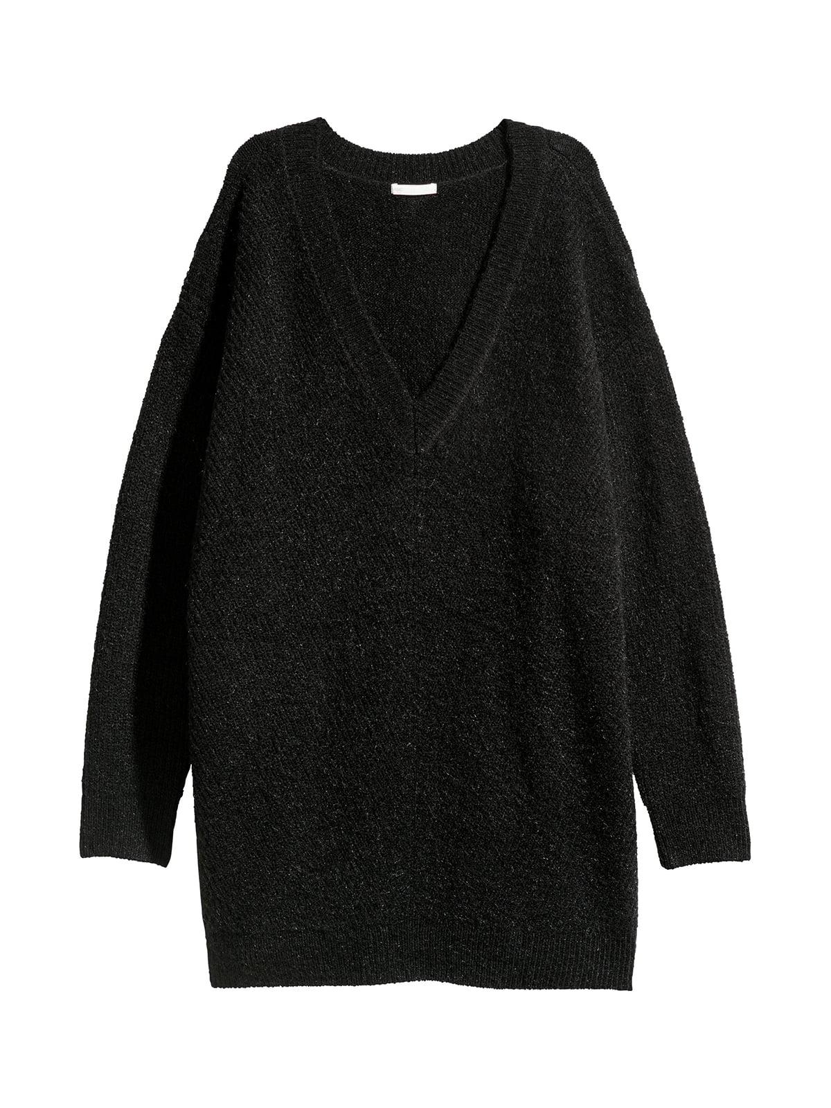 Пуловер чорний | 5548345
