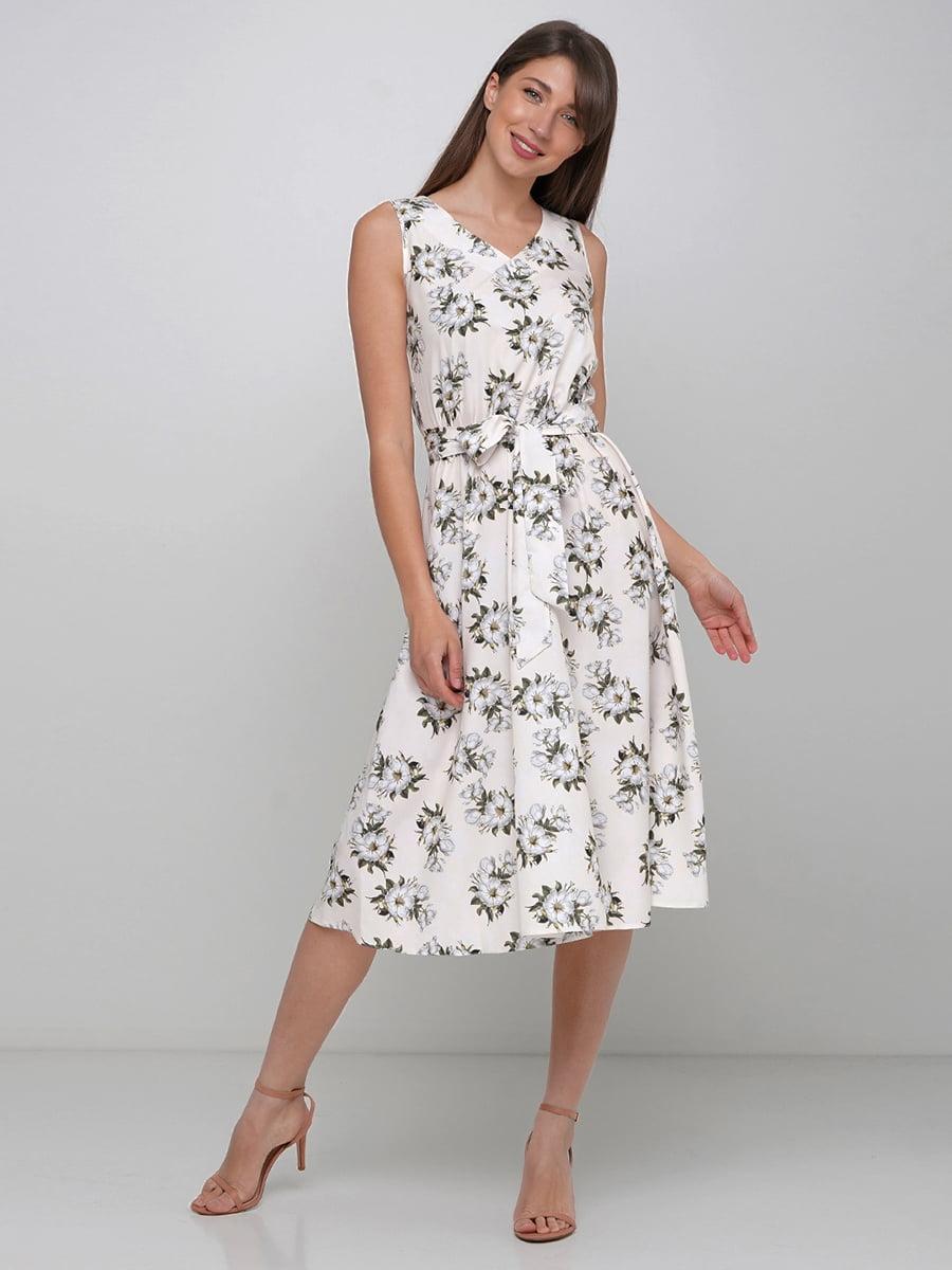 Платье в цветочный принт   5591567
