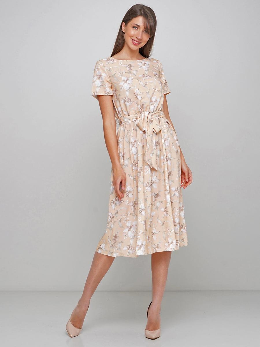 Платье в цветочный принт   5591570