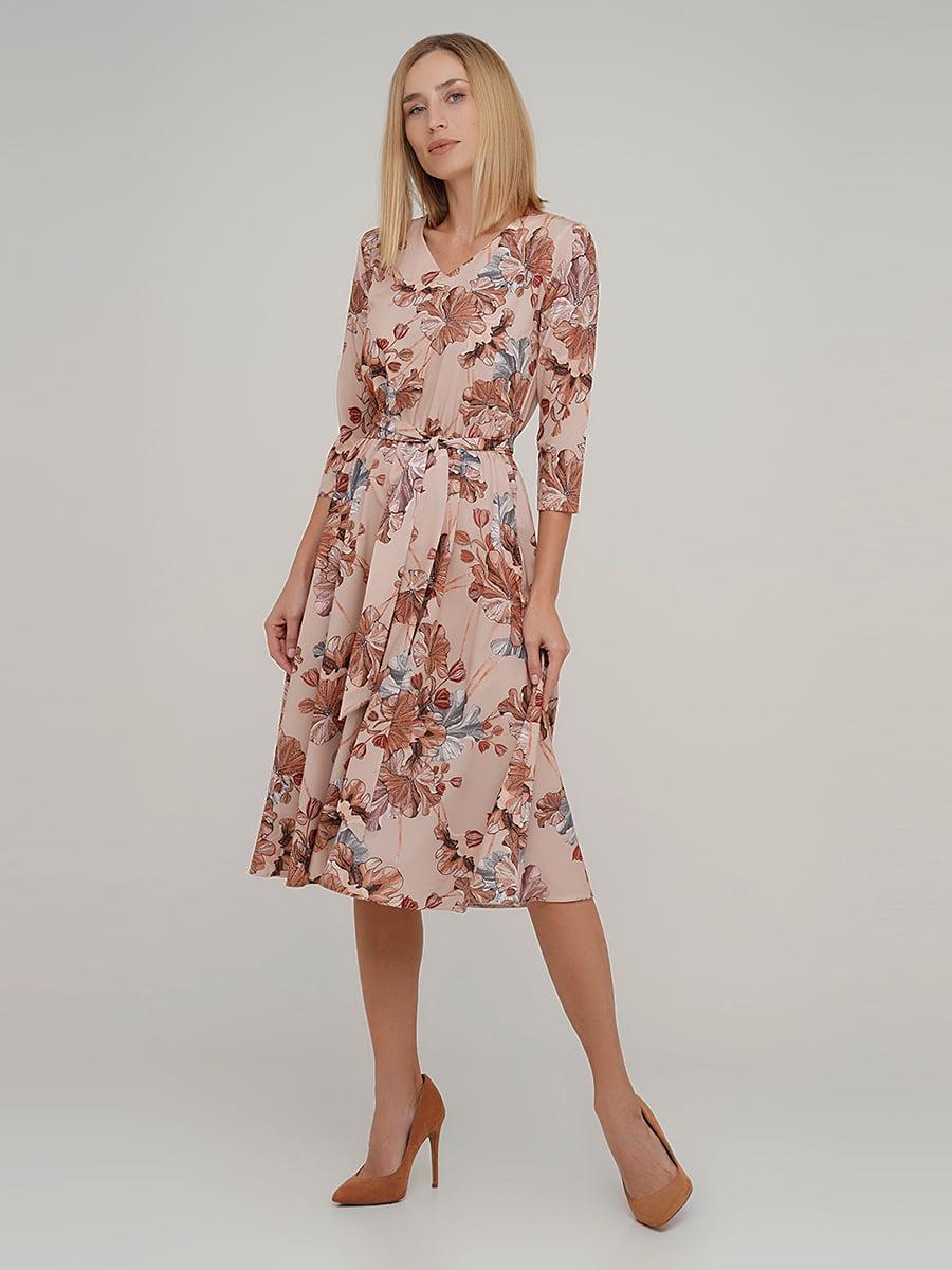 Сукня в квітковий принт   5591616