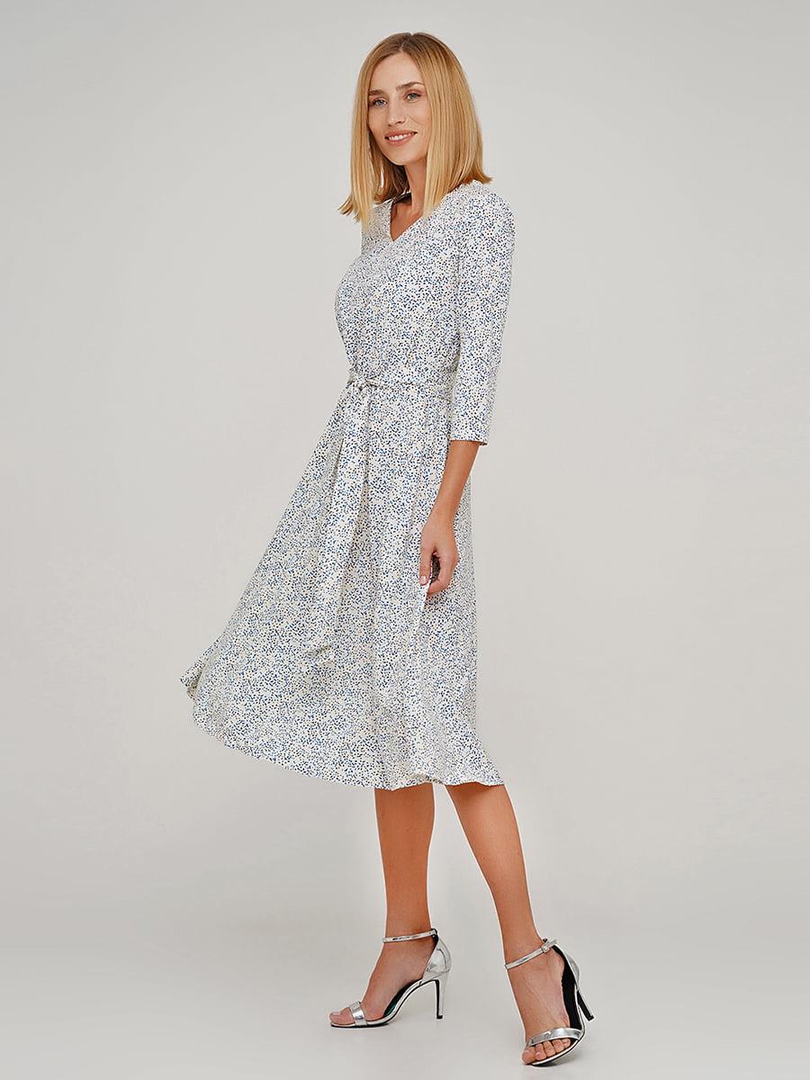 Сукня в дрібний принт | 5591617