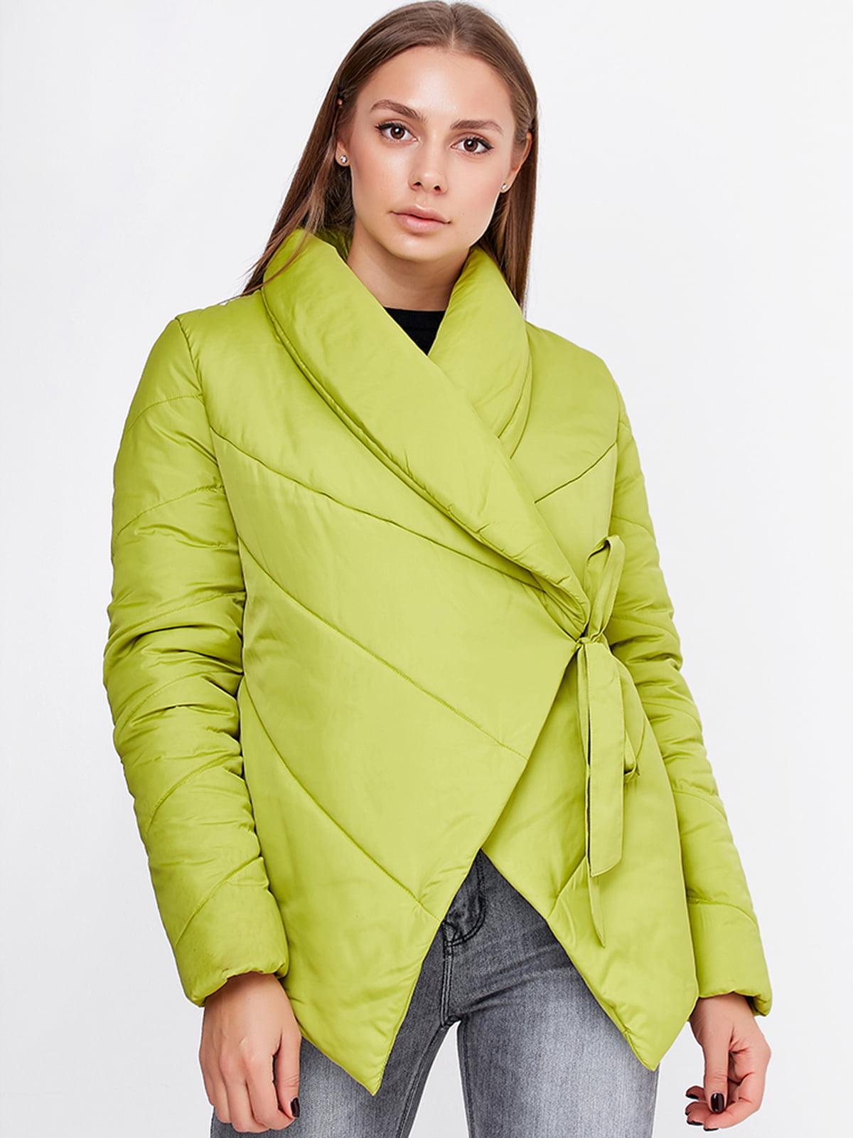 Куртка салатового цвета | 5592192