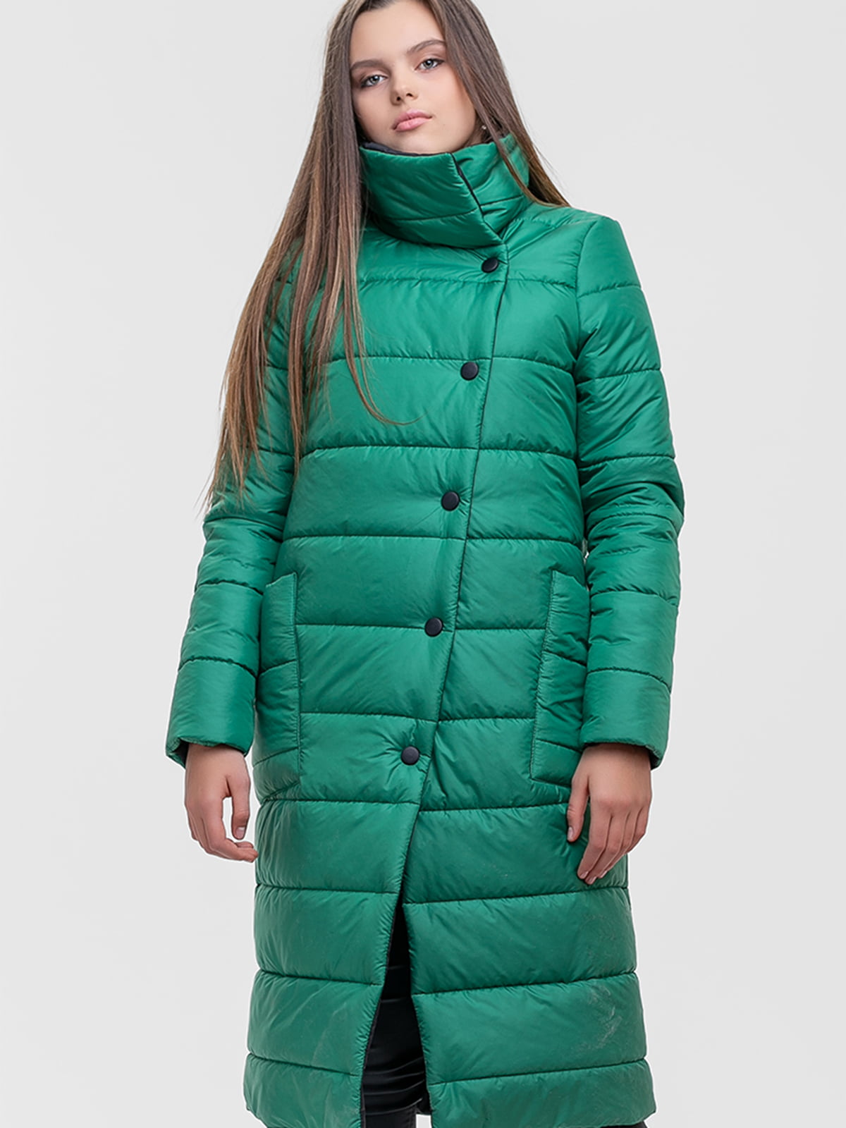 Куртка зелена | 5592198