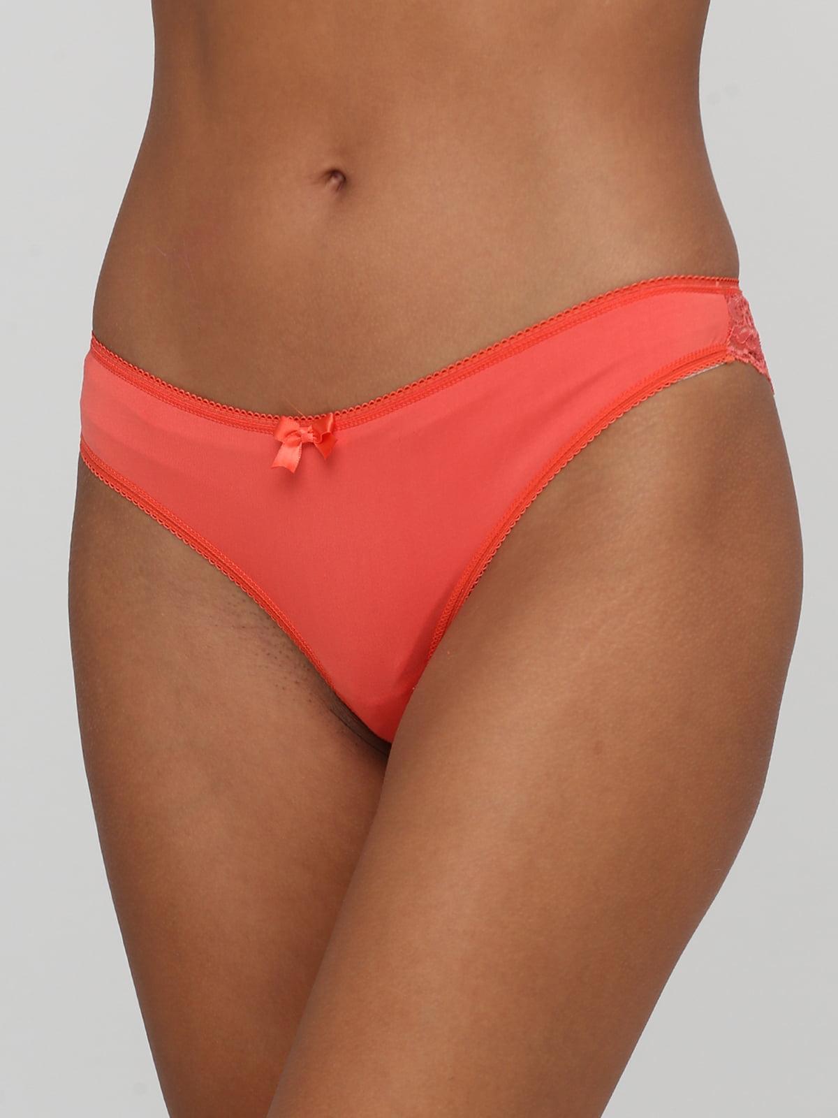 Труси-стрінги помаранчевого кольору | 5594157