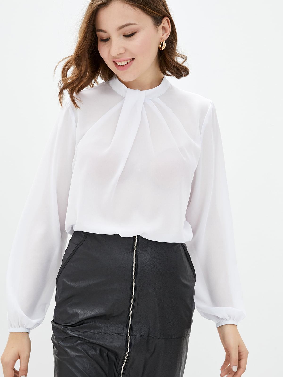 Блуза белая   5596535