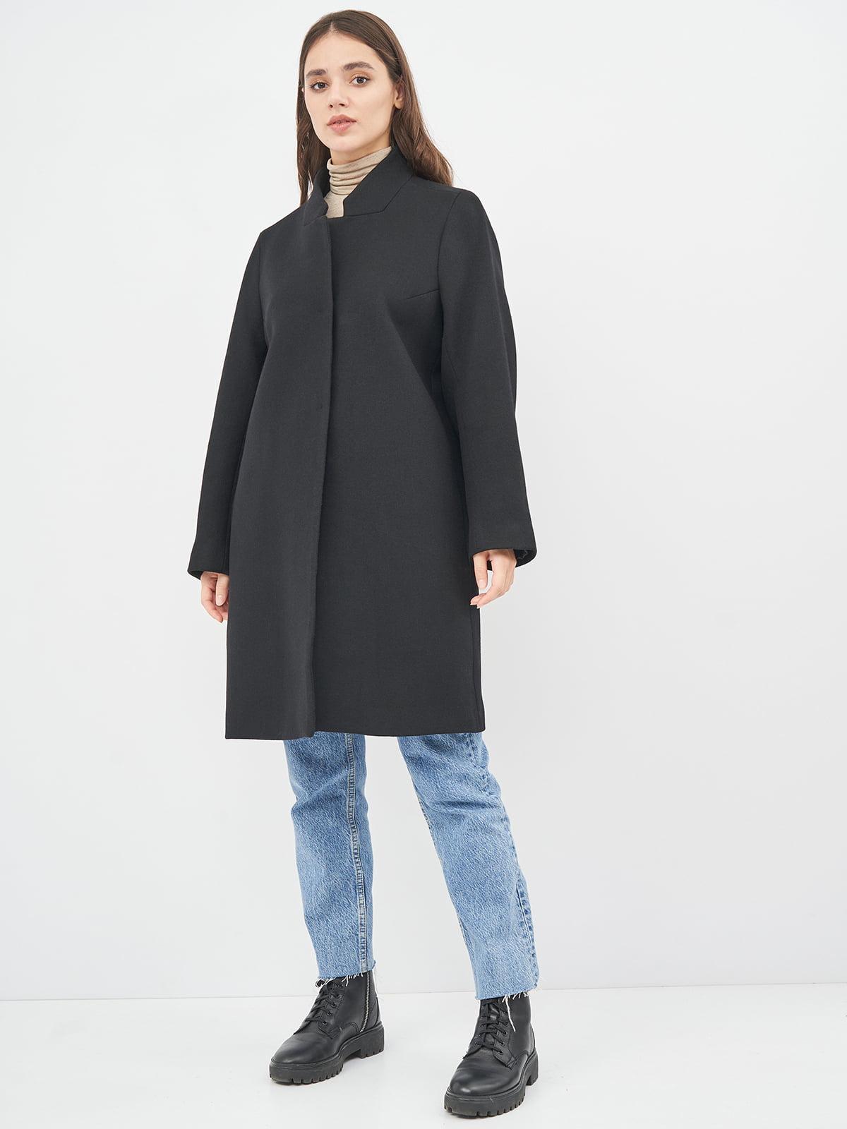 Пальто чорне | 5569927