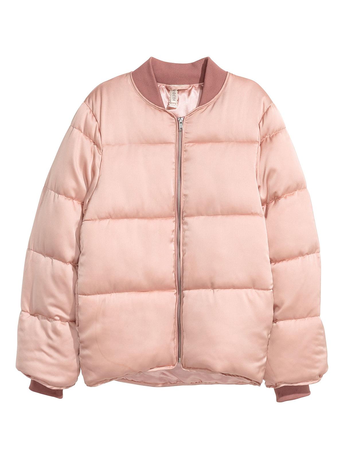 Бомбер розовый | 5551606