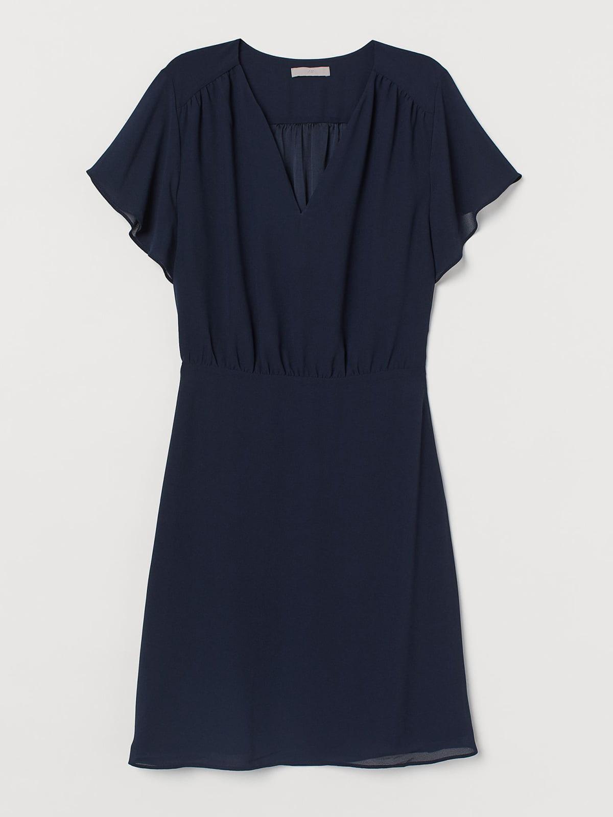 Платье синее | 5586404