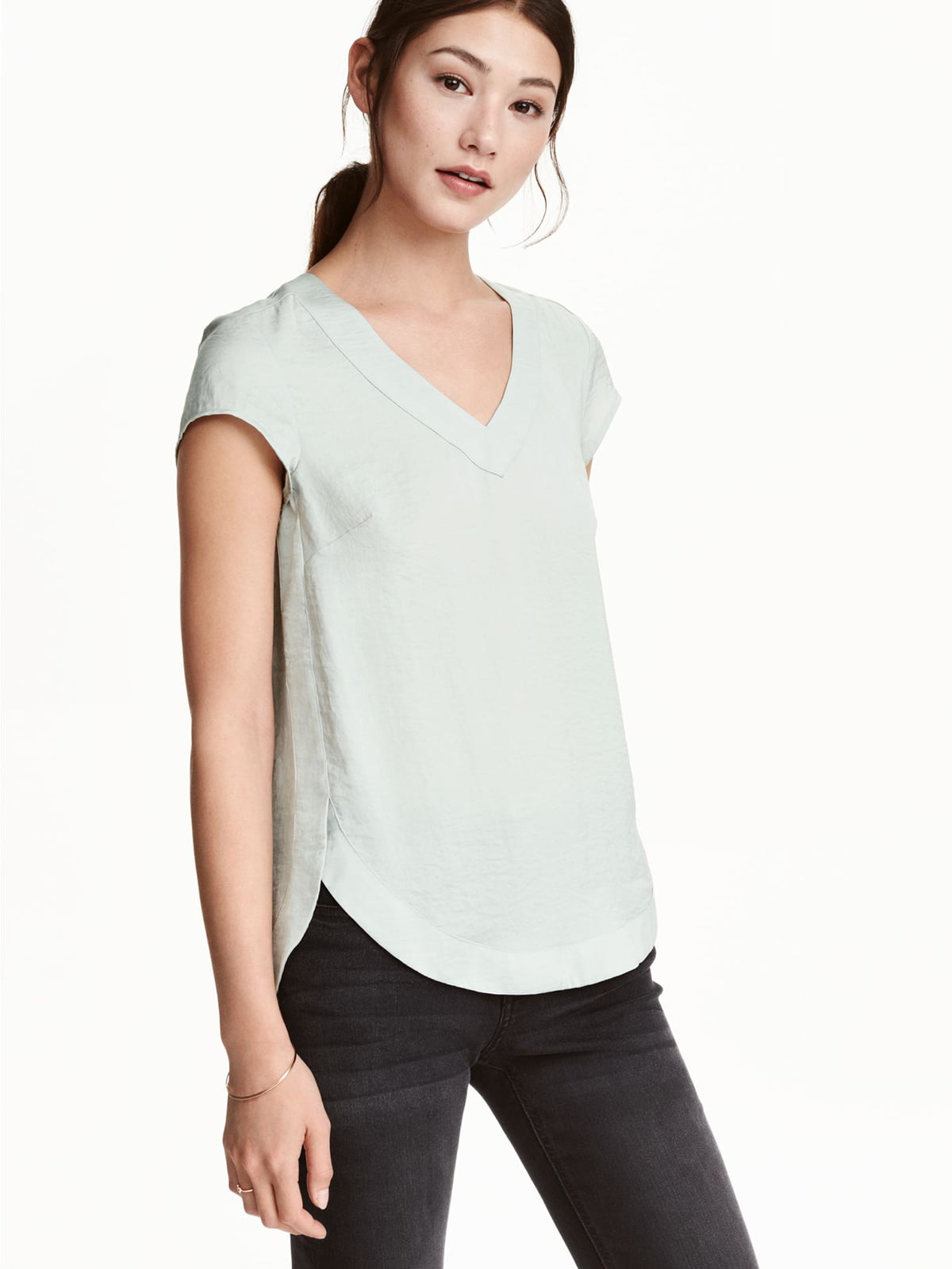Блуза серая   5589470