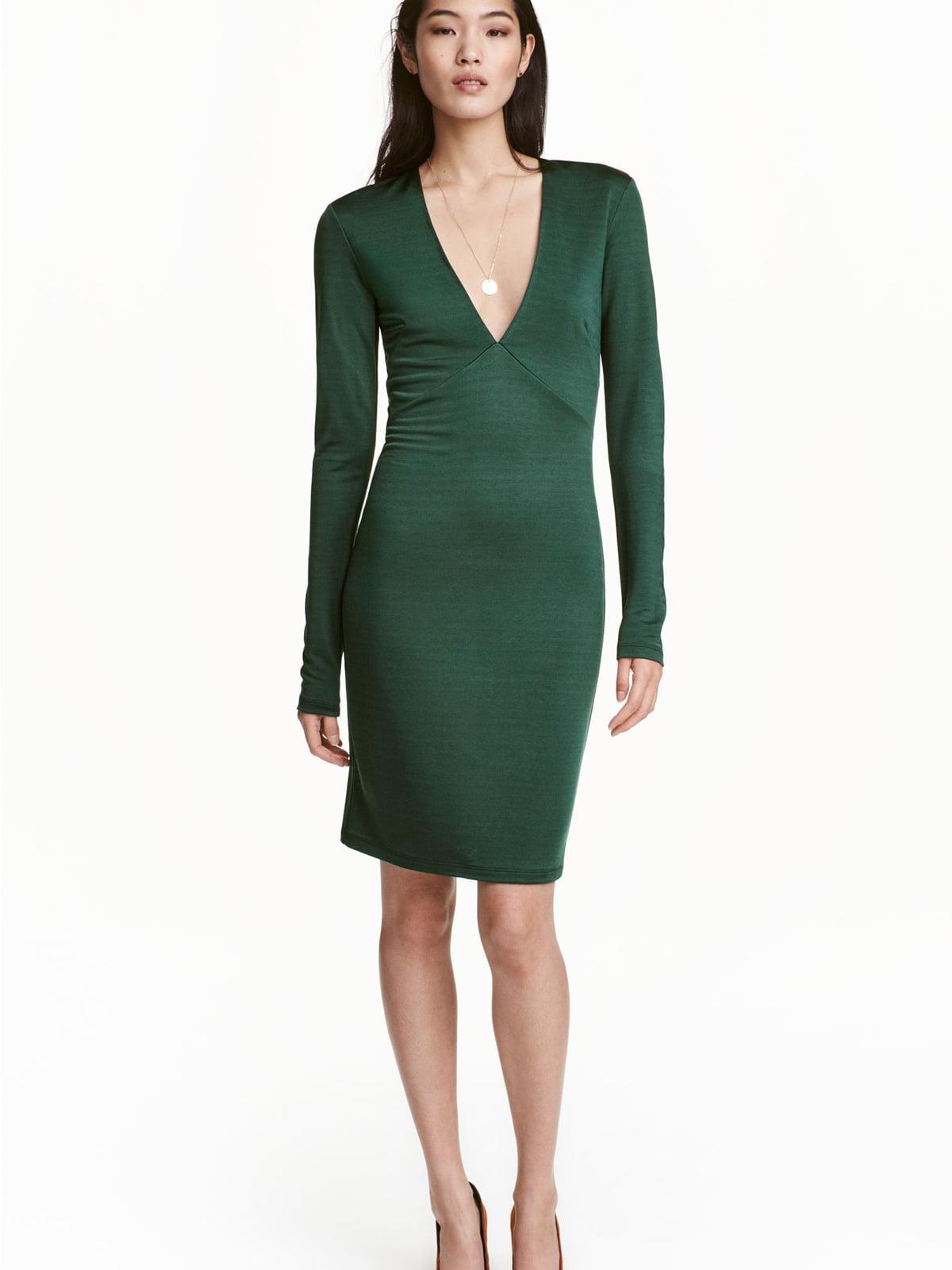 Платье зеленое | 5589472