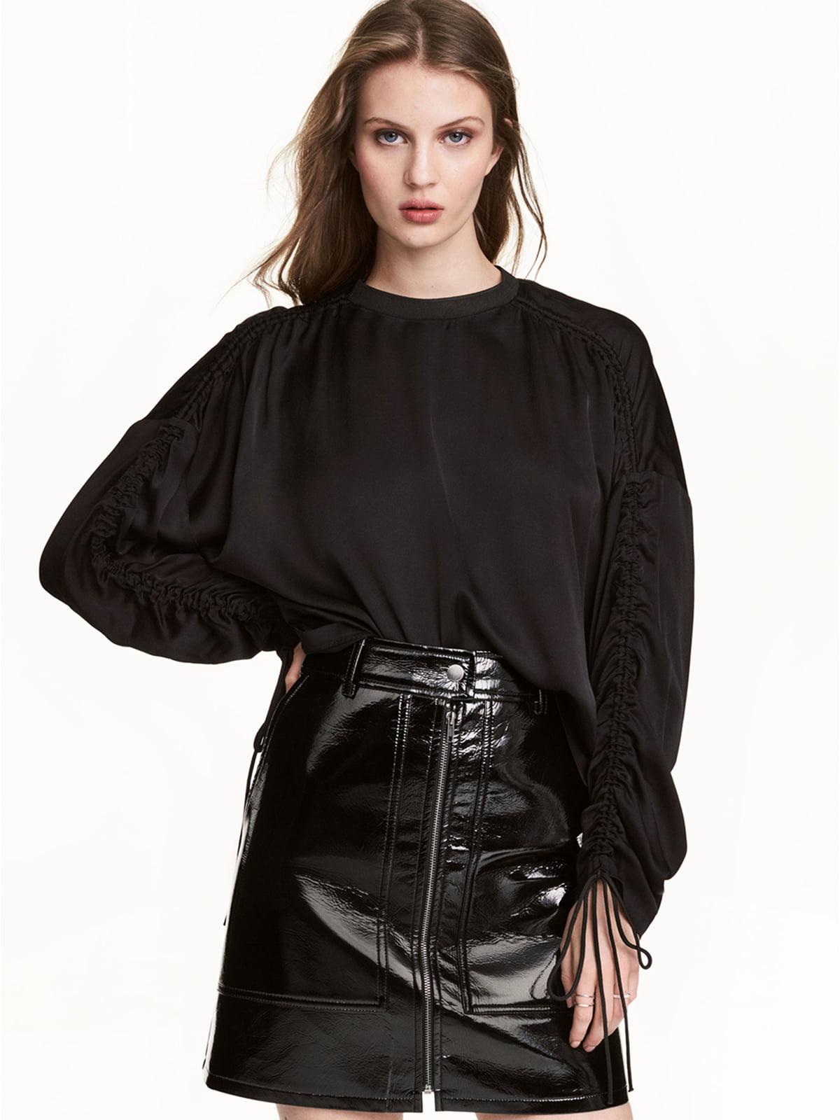 Блуза черная | 5589473