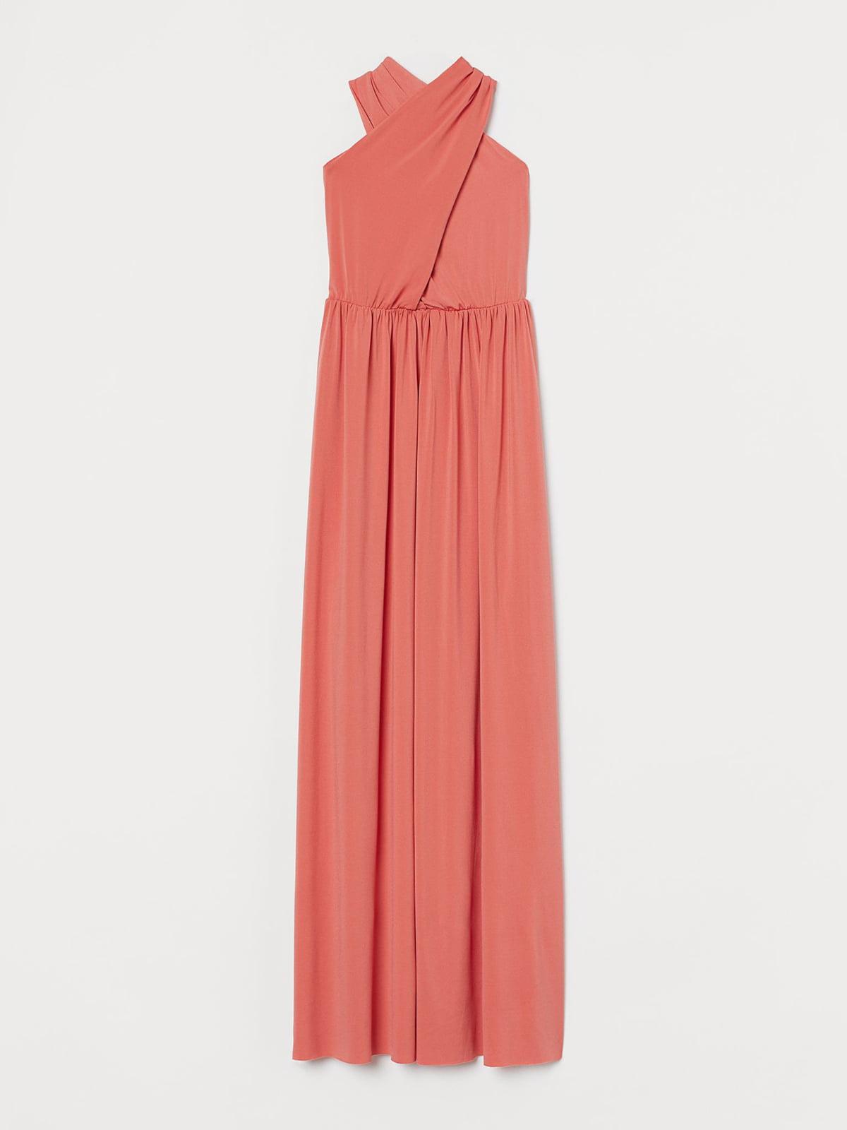Платье кораллового цвета | 5596207