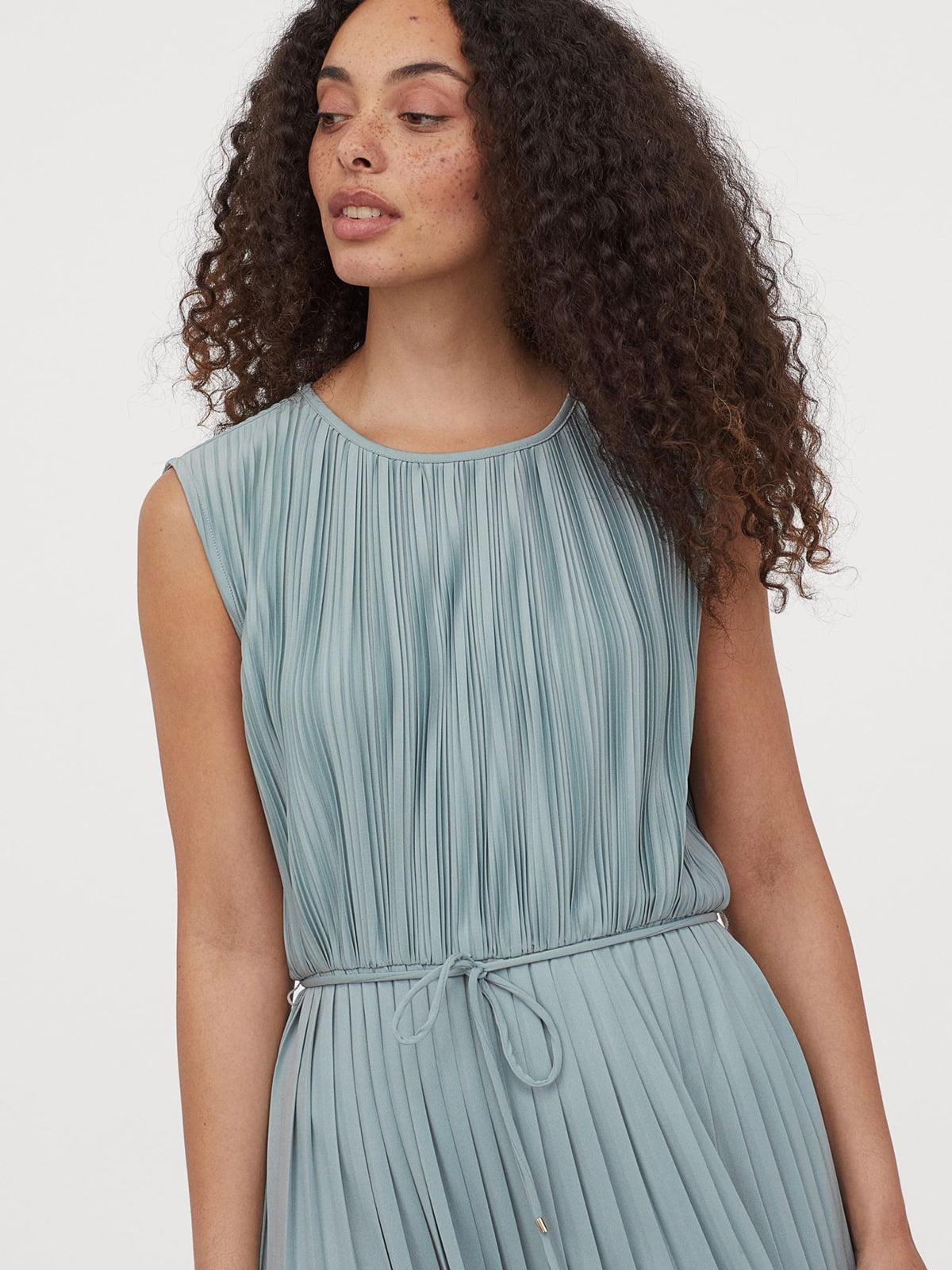 Платье бирюзовое | 5597078