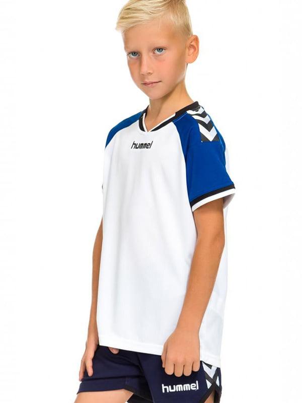Футболка бело-синяя | 5599507
