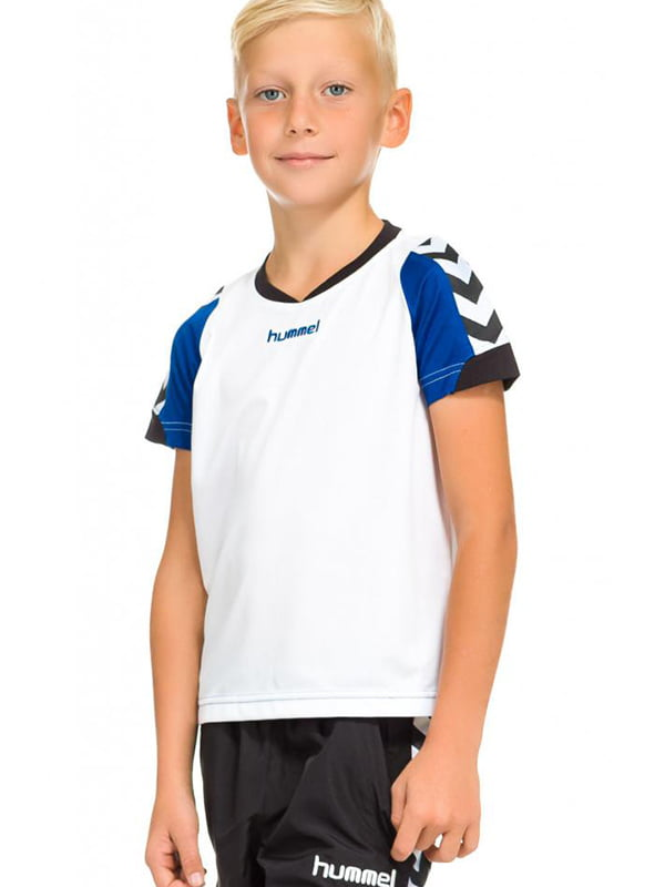 Футболка біло-синя | 5599509