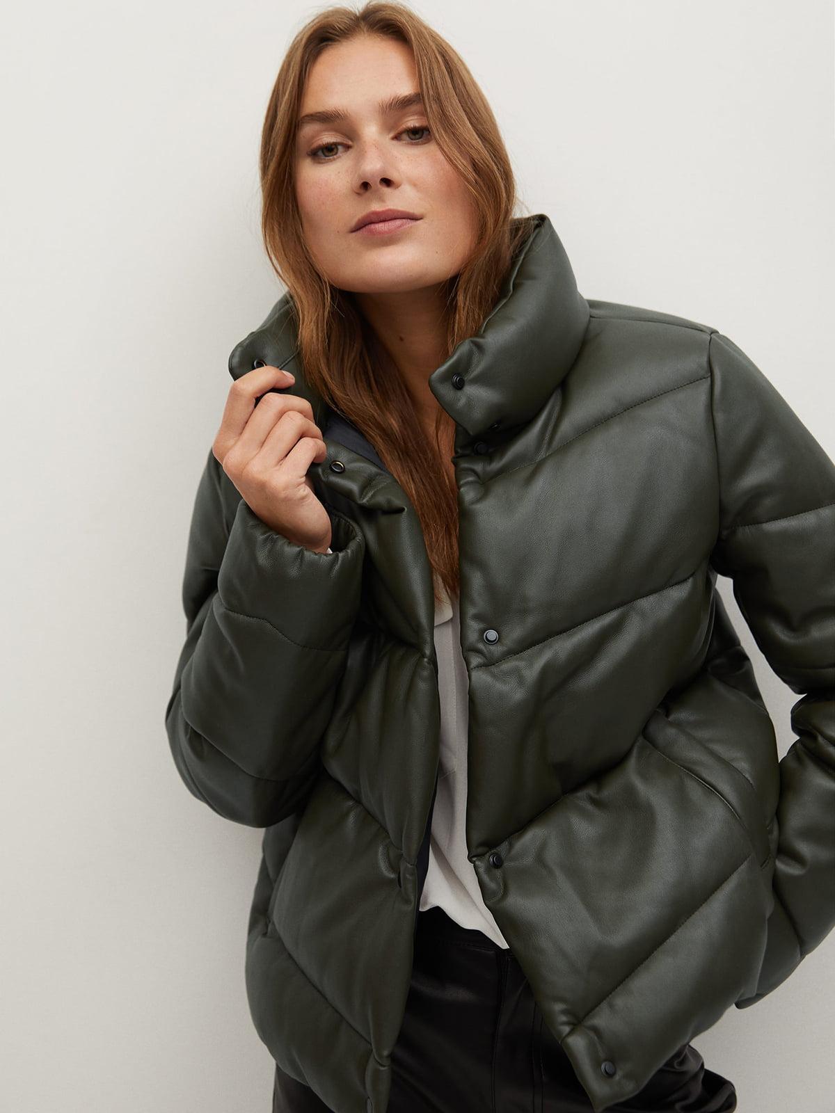 Куртка цвета хаки | 5604379