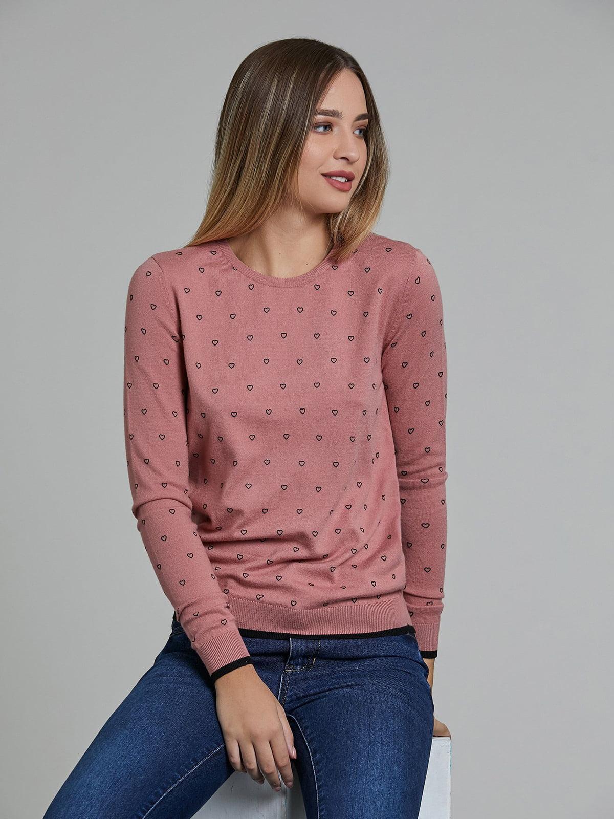 Лонгслив розовый | 5604536