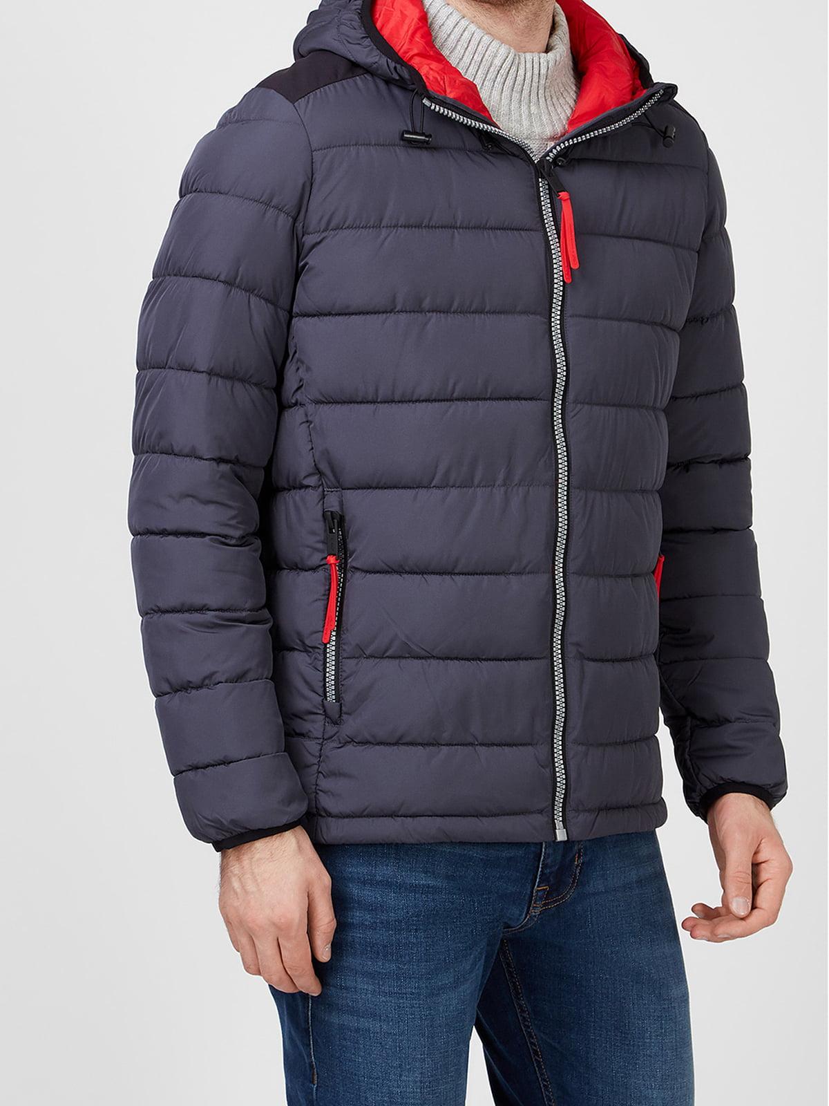 Куртка антрацитового кольору | 5606423