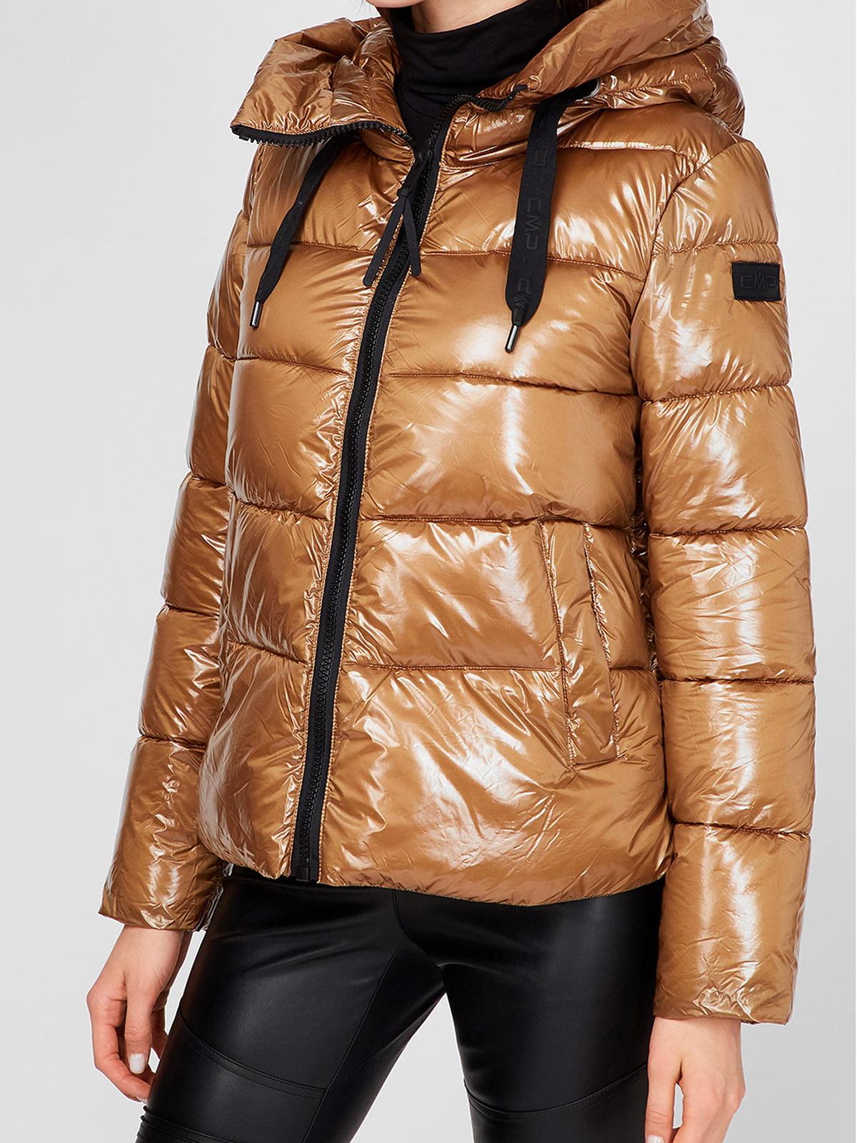 Куртка золотистого цвета | 5606425