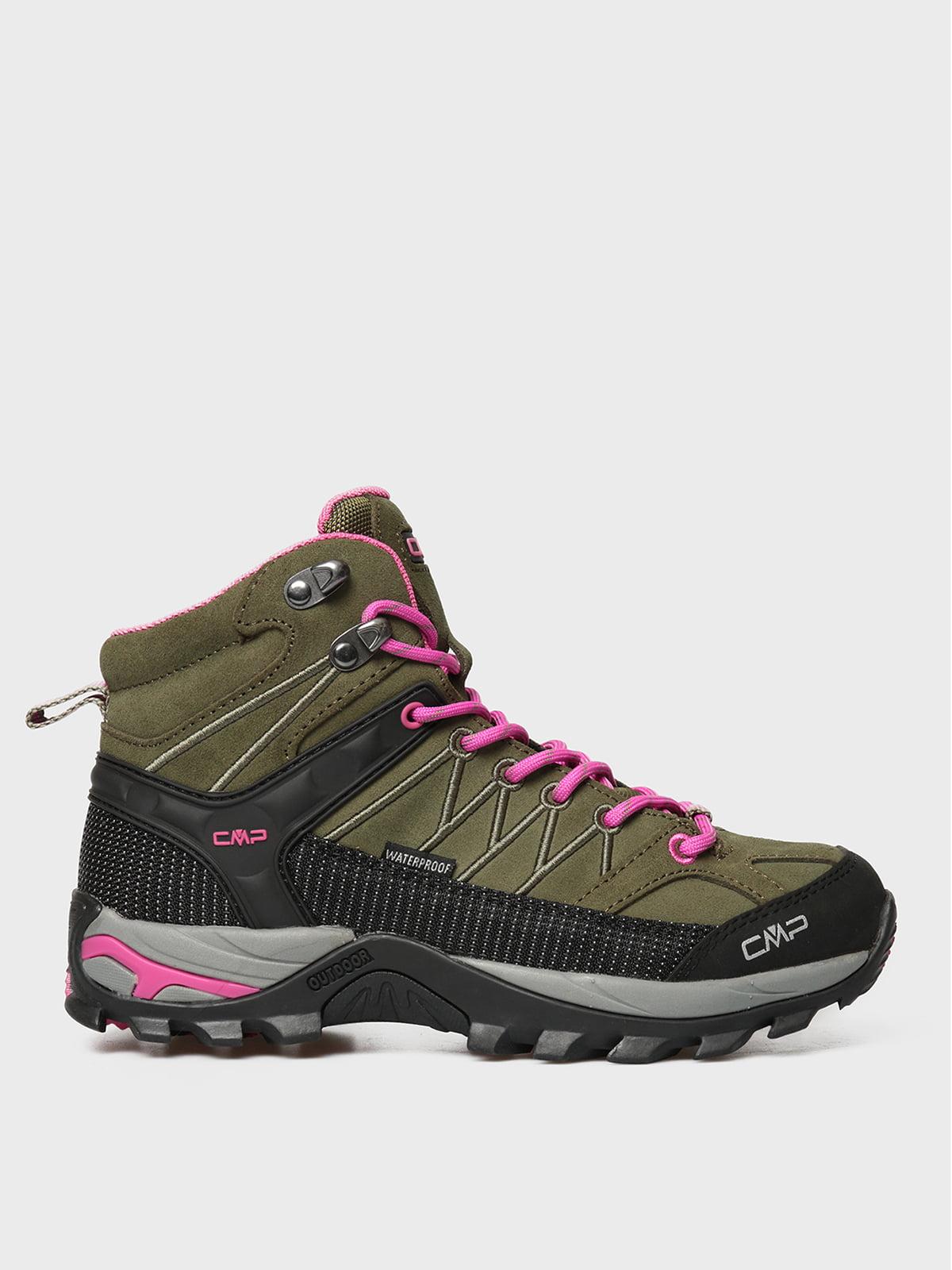Ботинки цвета хаки | 5606450